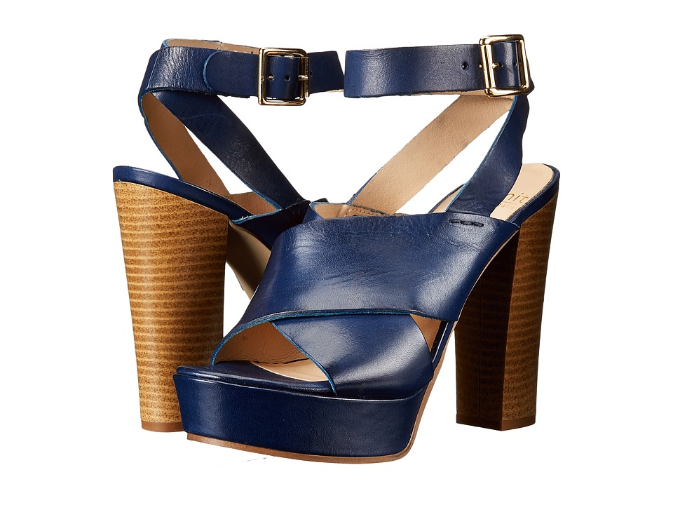 Summit by White Mountain - Valera (Blue Leather) High Heels