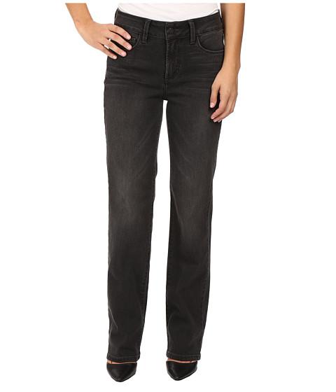 NYDJ Petite Petite Marilyn Straight Jeans in Future Fit Denim in Kensington Wash - Kensington Wash