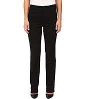 NYDJ Petite - Petite Marilyn Straight Jeans in Luxury Touch Denim in Black