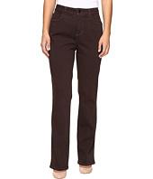 NYDJ Petite - Petite Marilyn Straight Jeans in Luxury Touch Denim in Pumpernickel