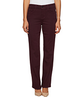 NYDJ Petite - Petite Marilyn Straight Jeans in Luxury Touch Denim in Zinfandel