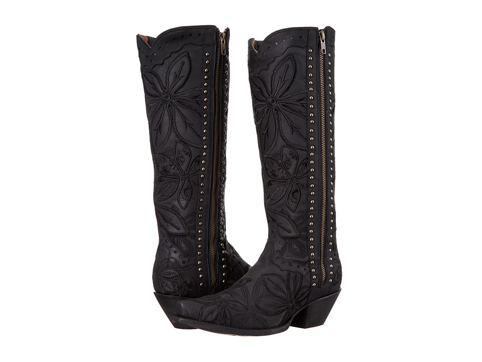 Dan Post Bombshell (Black) Cowboy Boots