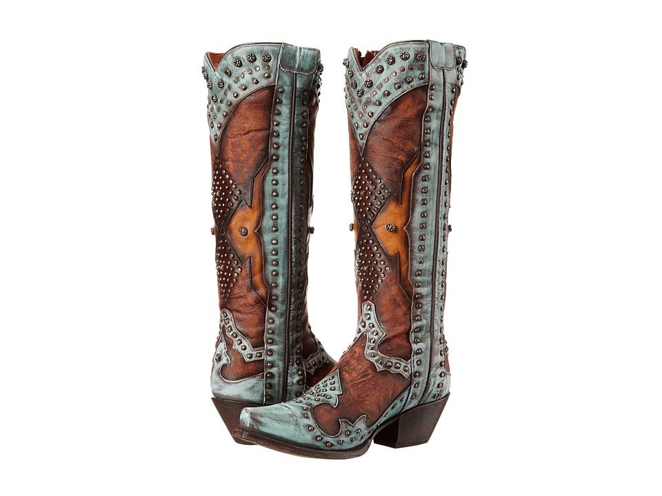 Dan Post Natasha (Turquoise) Cowboy Boots