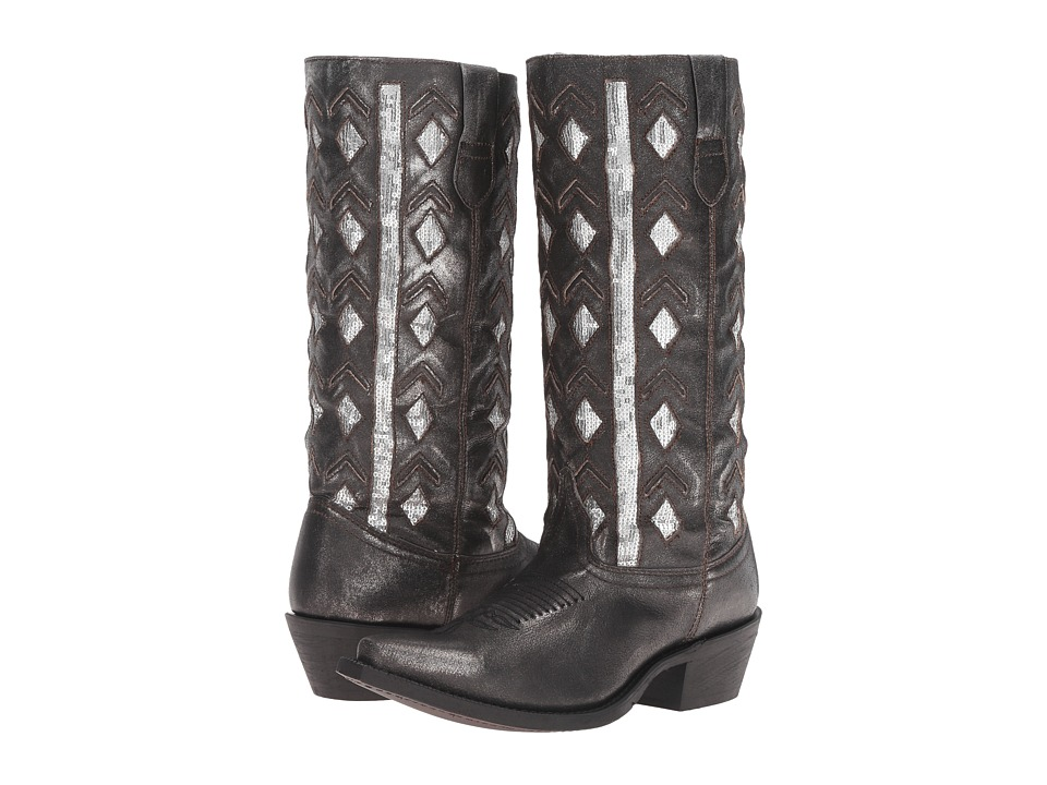 Laredo Diamond (Black) Cowboy Boots