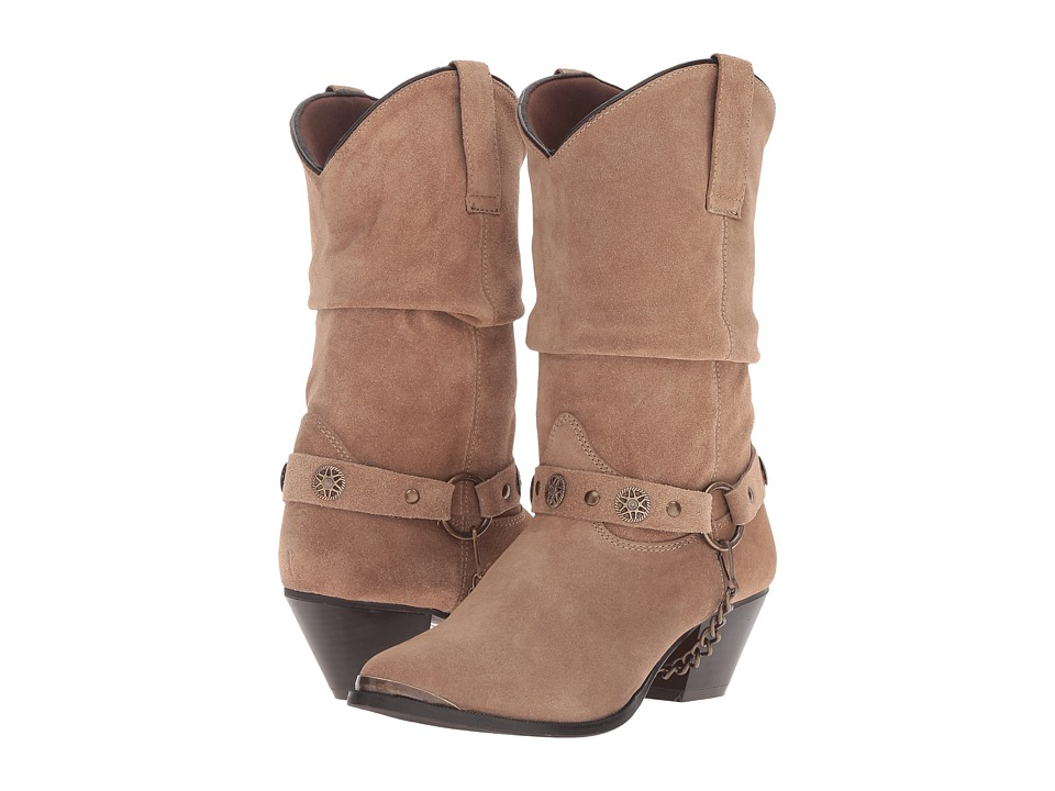 Dingo Olivia (Brown) Western Boots