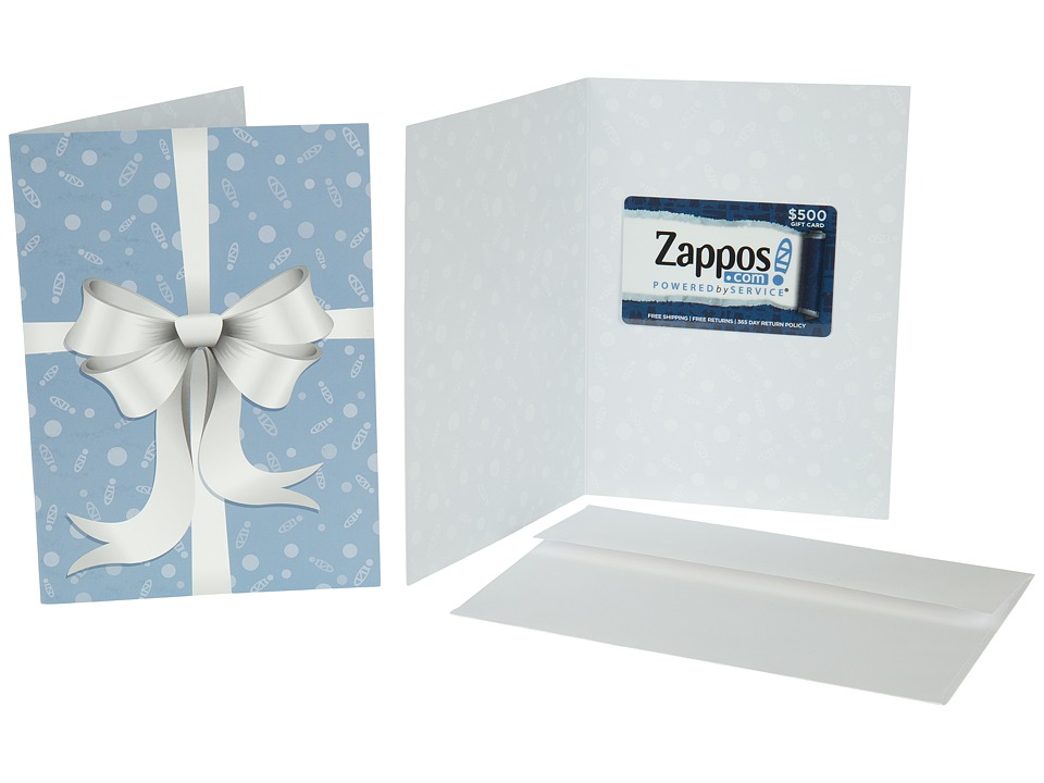 Zappos Gift Cards - Gift Card - Ribbon (500) Gift Cards Gifts