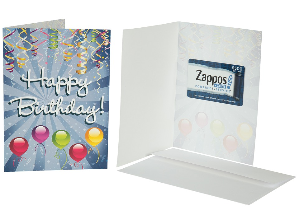 Zappos Gift Cards - Gift Card - Birthday