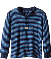 Polo Ralph Lauren Kids - Yarn-Dyed Slub Jersey Henley Shirt (Toddler)