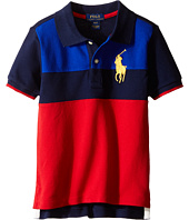 Polo Ralph Lauren Kids - Mesh Novel Polo Shirt (Toddler)