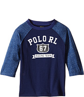 Polo Ralph Lauren Kids - Cotton Jersey Baseball Tee (Toddler)