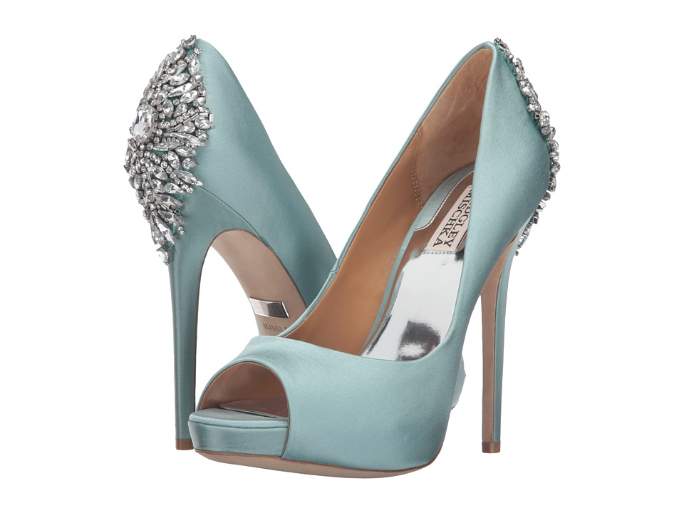 Badgley Mischka Kiara (Blue Radiance) High Heels