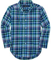 Polo Ralph Lauren Kids - Poplin Plaid Long Sleeve Shirt (Little Kids/Big Kids)