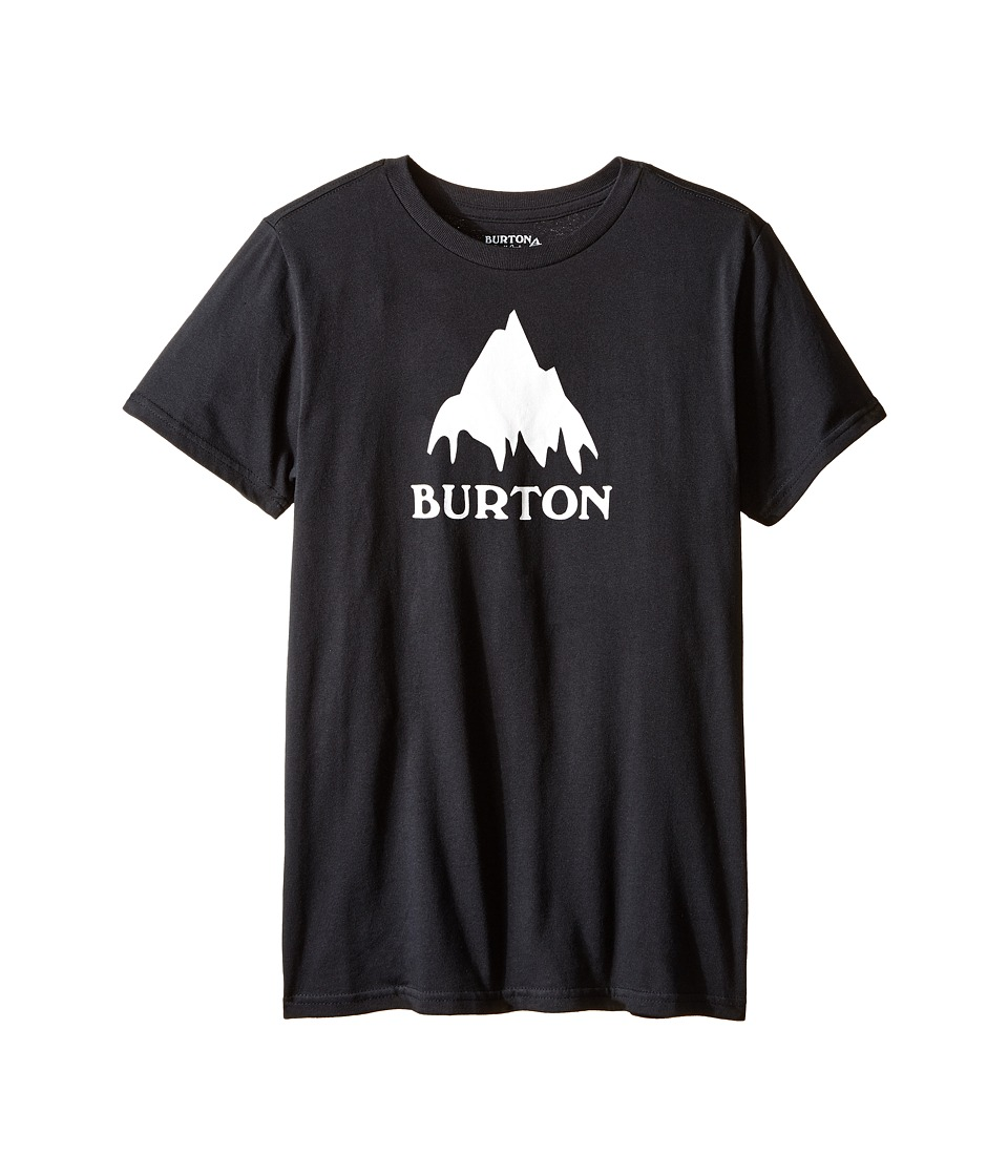 Burton Kids Classic Mountain S/S Tee (Big Kids) (True Black 2) Boy