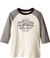 Polo Ralph Lauren Kids - Jersey Baseball Tee (Little Kids/Big Kids)