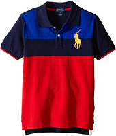 Polo Ralph Lauren Kids - Mesh Novel Polo Shirt (Little Kids/Big Kids)