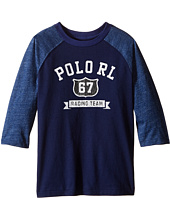 Polo Ralph Lauren Kids - Cotton Jersey Baseball Tee (Little Kids/Big Kids)