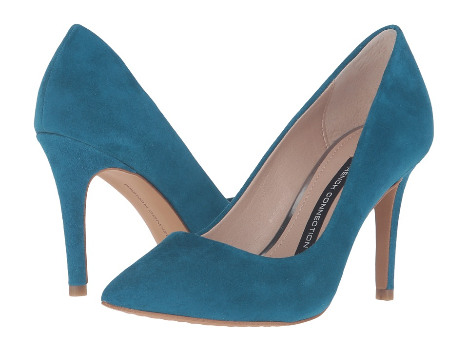 French Connection - Rosalie (Ink Blue Kid Suede) Women
