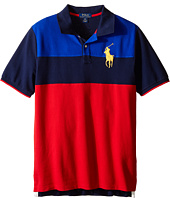 Polo Ralph Lauren Kids - Mesh Novel Polo Shirt (Big Kids)