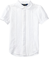 Polo Ralph Lauren Kids - Broadcloth Pleated Shirt (Little Kids)