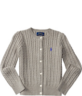 Polo Ralph Lauren Kids - Combed Cotton Mini Cable Sweater (Little Kids)