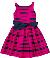 Polo Ralph Lauren Kids - Cotton Sateen Fit and Flare Dress (Big Kids)