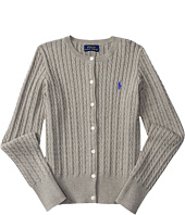 Polo Ralph Lauren Kids - Combed Cotton Mini Cable Sweater (Little Kids/Big Kids)