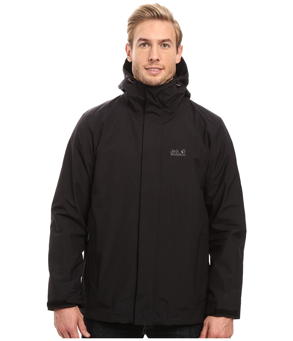 Jack Wolfskin Iceland 3-in-1 Jacket (Black) Men