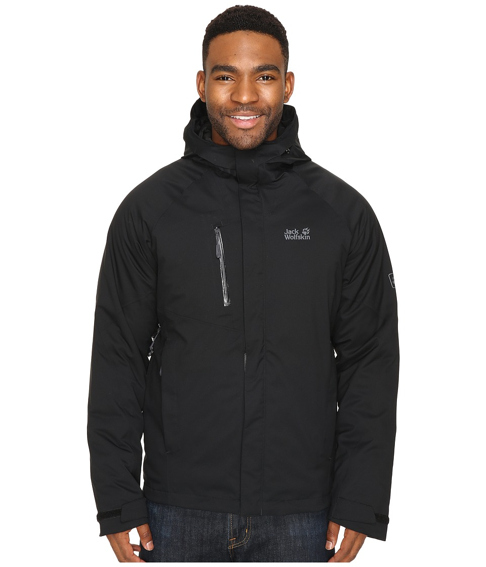 Jack Wolfskin Troposphere DF O2+ Insulated Jacket (Black 1) Men