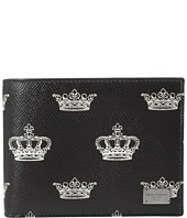 Dolce & Gabbana - Crown Printed Wallet