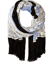 Kate Spade New York - New York Map Scarf