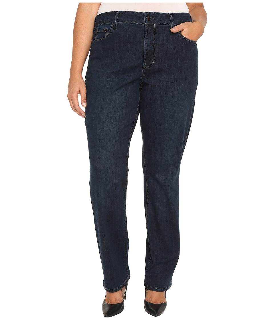 NYDJ Plus Size - Plus Size Marilyn Straight Jeans in Verdun