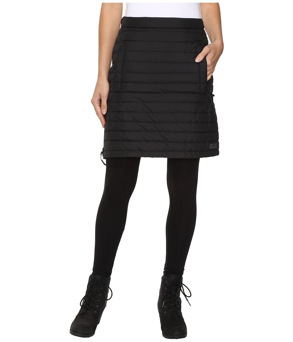 Jack Wolfskin - Iceguard Skirt (Black) Womens Skirt