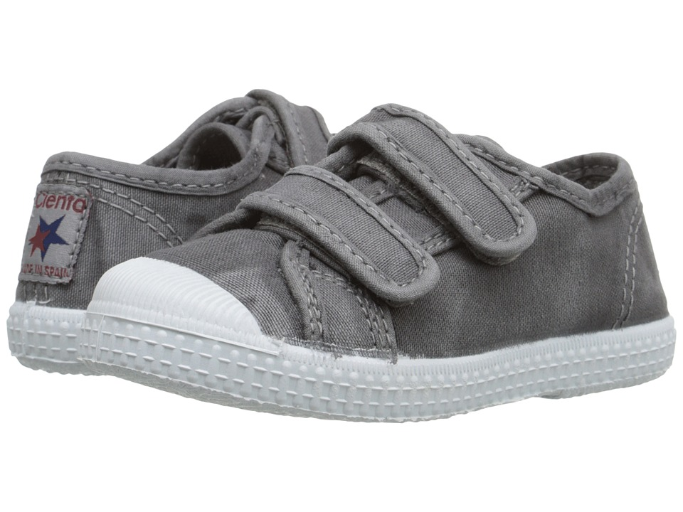 Cienta 78777 (Toddler/Little Kid/Big Kid) (Grey) Kid's Shoes