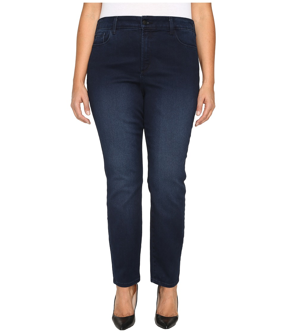 NYDJ Plus Size - Plus Size Alina Legging Jeans in Super Sculpting Denim in Norwell Wash
