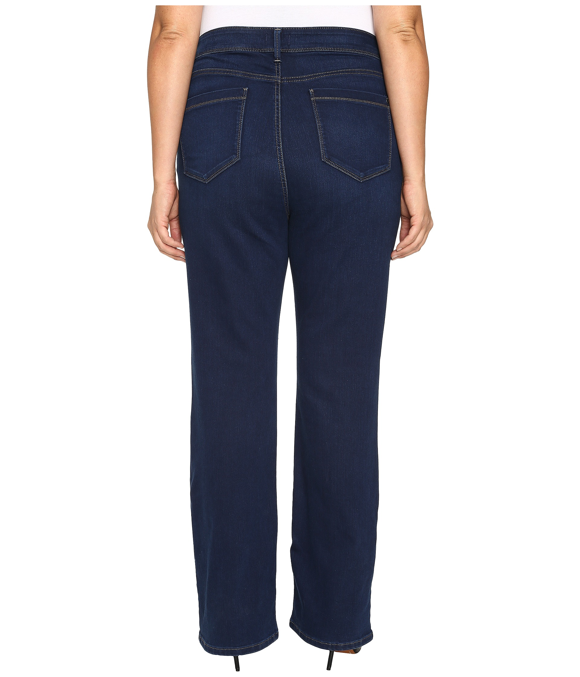 Find a pair of pants or jeans that fit you well and measure the width of the bottom hem of one leg, doubling measurement. LENGTH MEASUREMENT (FOR DRESSES & SKIRTS) Find a dress that fits you well and measure from the highest point of the shoulder seam to the bottom hem.