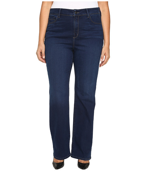NYDJ Plus Size Plus Size Barbara Bootcut Jeans in Future Fit Denim in Provence