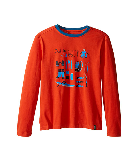 Jack Wolfskin Kids Out in The Wild Long Sleeve (Infant/Toddler/Little Kids/Big Kids)