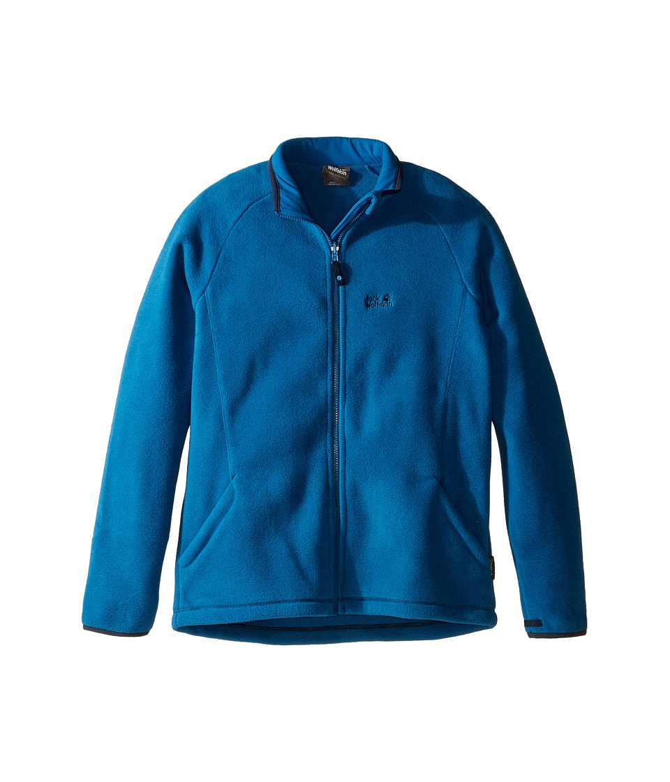Jack Wolfskin Kids Thunder Bay Fleece Jacket (Infant/Toddler/Little Kids/Big Kids) (Glacier Blue) Boy
