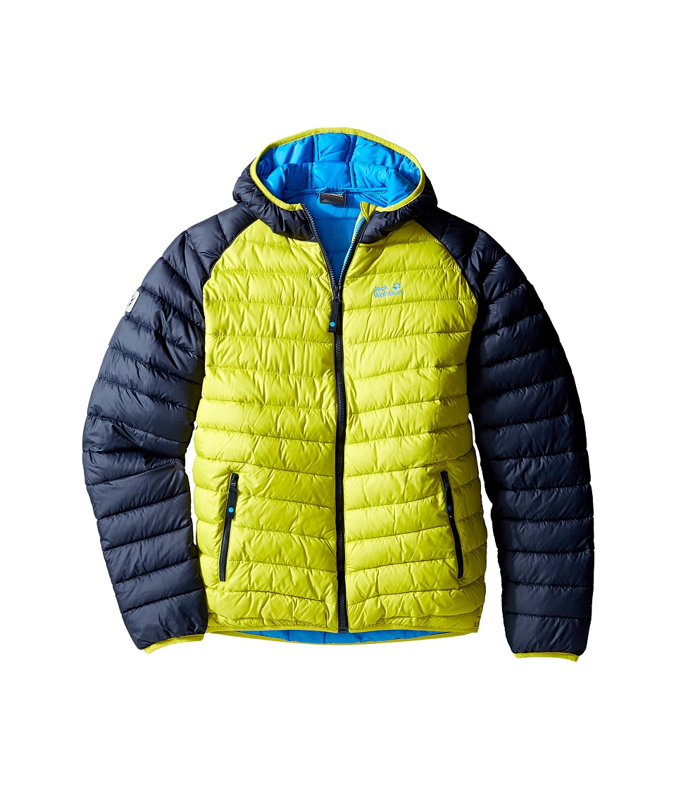 Jack Wolfskin Kids Zenon Jacket (Infant/Toddler/Little Kids/Big Kids) (Wild Lime) Boy