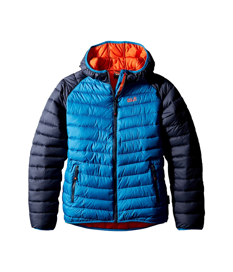 Jack Wolfskin Kids Zenon Jacket (Infant/Toddler/Little Kids/Big Kids) (Glacier Blue) Boy