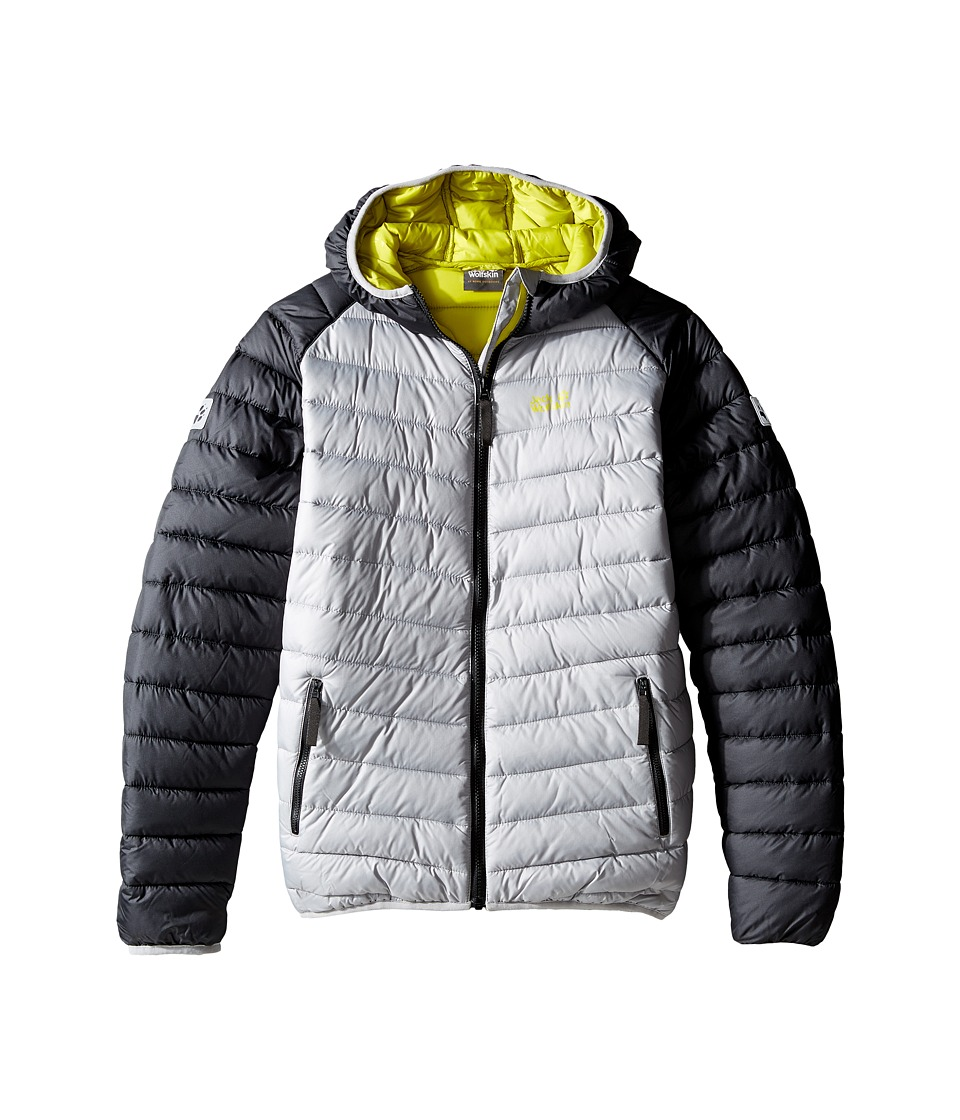 Jack Wolfskin Kids Zenon Jacket (Infant/Toddler/Little Kids/Big Kids) (Alloy) Boy