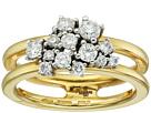 Miseno Vesuvio 18k Gold Ring with diamonds