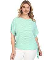 MICHAEL Michael Kors - Plus Size Mini Retro Tie Top