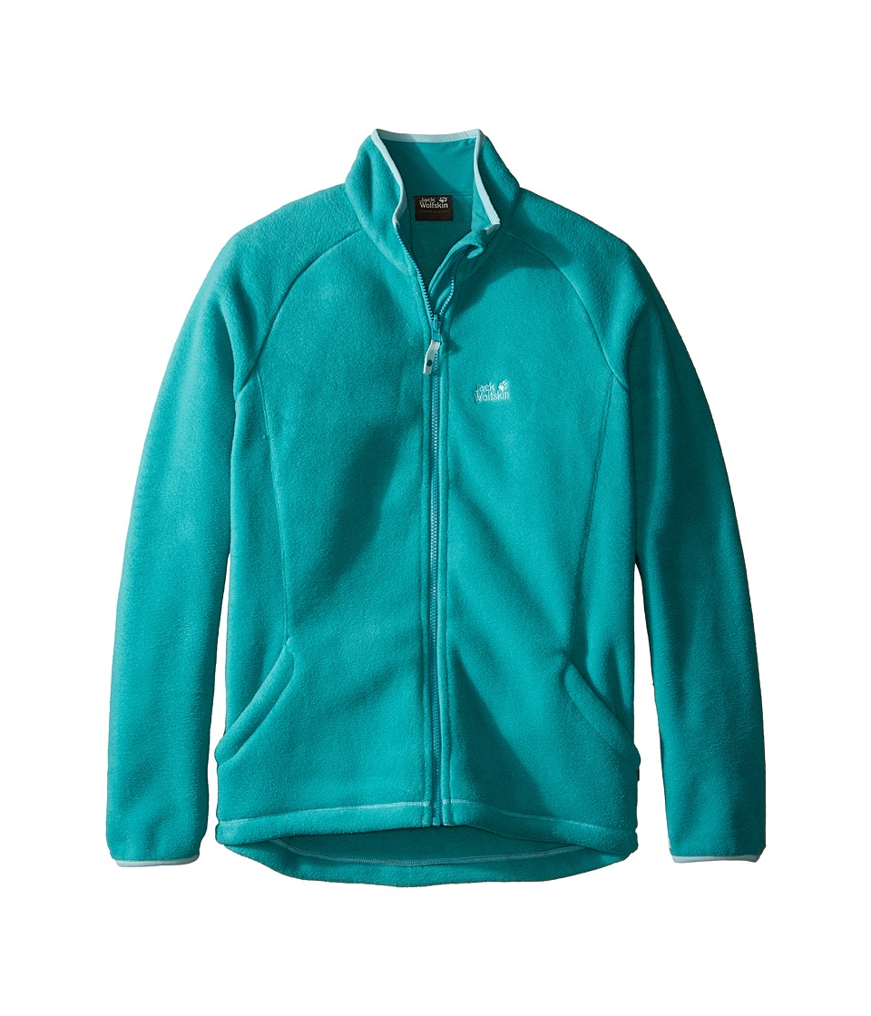 Jack Wolfskin Kids Thunder Bay Fleece Jacket (Infant/Toddler/Little Kids/Big Kids) (Spearmint) Girl