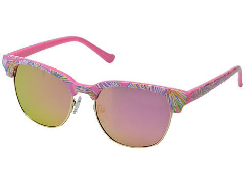 Lilly Pulitzer Meghan (Polarized) - Polarized Light Pink Mirror