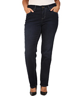 Jag Jeans Plus Size - Plus Size Portia Straight in Indio Platinum Denim