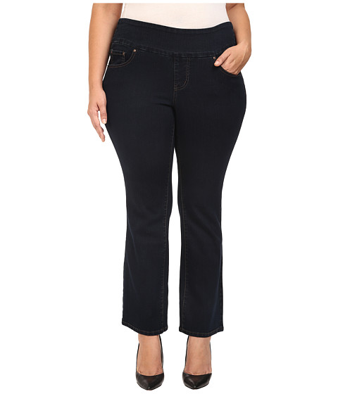 Jag Jeans Plus Size Plus Size Petite Paley Pull-On Boot in After Midnight Comfort Denim - After Midnight