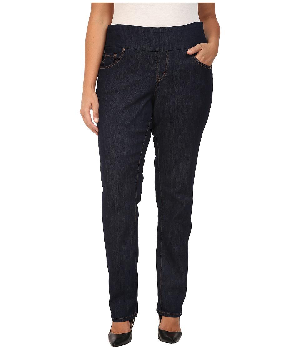 Jag Jeans Plus Size Plus Size Malia Pull-On Skinny in Dark Shadow Comfort Denim (Dark Shadow) Women