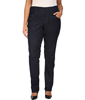 Jag Jeans Plus Size - Plus Size Malia Pull-On Skinny in Dark Shadow Comfort Denim