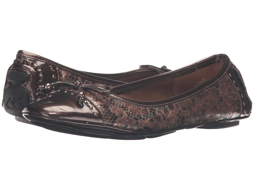 Anne Klein Buttons (Bronze Multi Snake) Flats